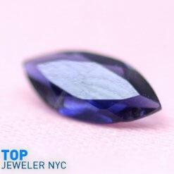 Natural Iolite gem stone Marquise shape Purple Velvet