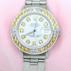 Rolex Datejust Watch Stainless Steel w/Diamonds, Sapphires