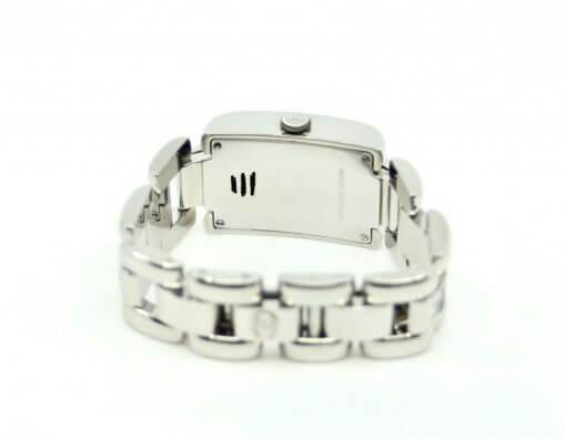 Ladies Chopard Geneve SS Watch w/ Diamonds; rainbow color Sapphires w/Box 4