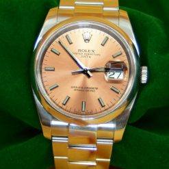Rolex Oyster Perpetual Date SS Watch