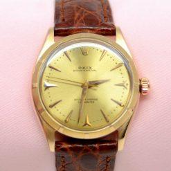 Rolex Oyster Perpetual Watch 656518K PG w/Box