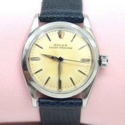 Unisex Rolex Stainless Steel Oyster-Speedking Watch