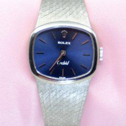 Ladies Rolex Orcbid Watch 18K White Gold
