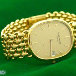 Patek Philippe Geneve 18K Yellow Gold WATCH w/Date