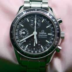 Omega Speedmaster Automatic SS Watch;3 Sub-Dials, Day/Month;Tachymetr