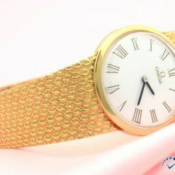 Unisex Omega Watch full 14K Yellow Gold