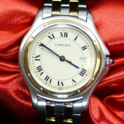 Cartier Panthere two tone SS & 18K YG w/Date,2 line