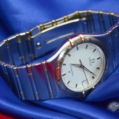 Omega Constellation Watch Two Tone 18K YG&SS w/Date