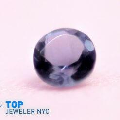 Natural Iolite gem stone round shape Purple Velvet